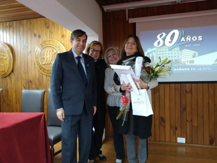 La Dra. Gladys Granata de Egües, nueva Profesora Consulta de la UNCuyo