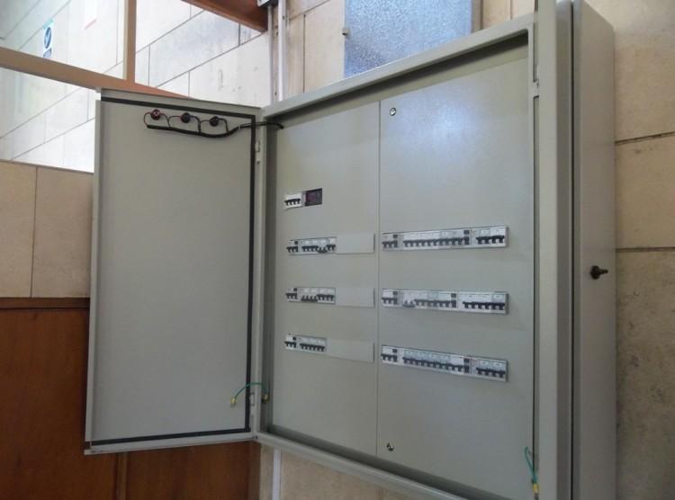 Finalizó el proceso de modernización del cableado eléctrico de la Facultad
