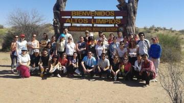 imagen que ilustra noticia Estudiantes de Geografía visitaron la Reserva floro-faunísitica Bosques Teltecas y Altos Limpios