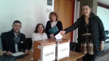Resultados elecciones Institutos de Estudios del Ambiente y Recursos Naturales e Instituto de Lingüística \Joan Corominas\