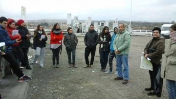 imagen que ilustra noticia Estudiantes de las carreras de Geografía visitaron las obras de infraestructura de riego de la Cuenca Inferior del Río Tunuyán