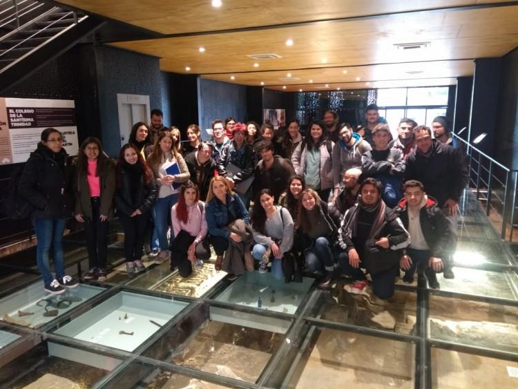 Estudiantes de Historia visitaron el Museo de Sitio y Centro de Interpretación Casa de San Martín