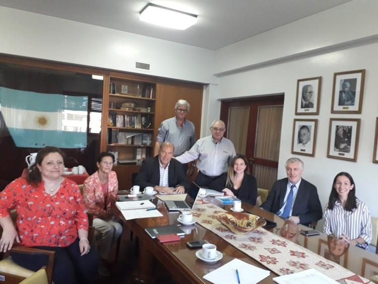 Encuentro de colaboración con la Universidad Bernardo O'Higgins