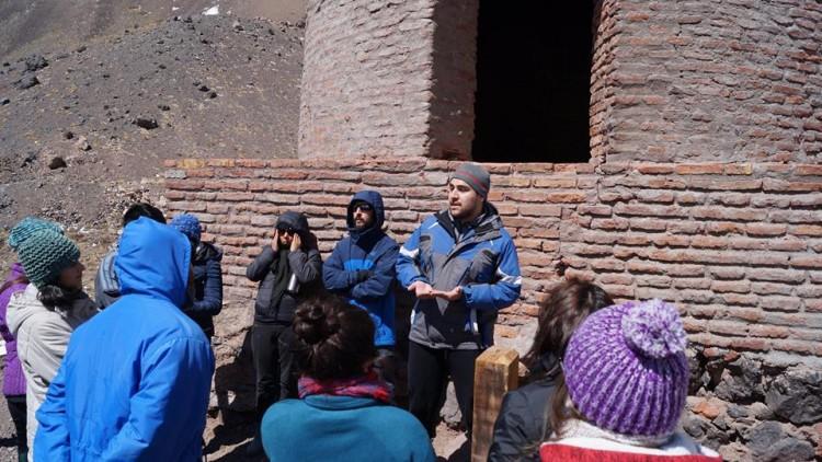 La primer salida fue a Alta Montaña, en el marco de las Prácticas Profesionales Supervisadas