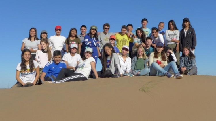 Estudiantes de Geografía recorrieron el departamento de Lavalle