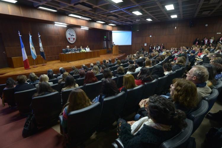 Comenzó el XIV Congreso Nacional de Profesores de Francés