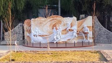 Inaugurarán el mural a mediados de septiembre