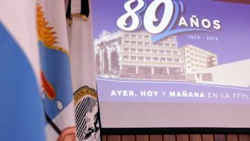 Personal de FFyL recibirá medallas por sus 30 años en la UNCUYO