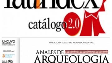 Anales de Arqueología y Etnología ingresó a Cátalogo 2.0 de Latindex