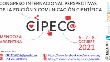 Por la pandemia mundial,  el CIPECC se traslada al 6, 7 y 8 de octubre del 2021