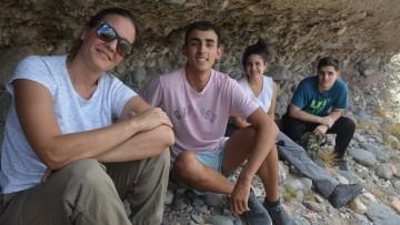 Estudiantes de la carrera de Arqueología participan en excavaciones