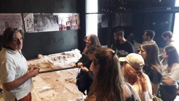 Ingresantes de Arqueología visitaron el Museo de sitio y Centro de interpretación Casa de San Martín