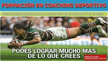 Capacitarán en coaching deportivo integral