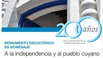 Presentación del concurso para la realización del Monumento Escultórico por el Bicentenario