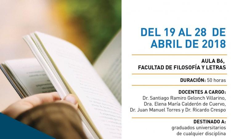 """Curso de posgrado """"Del Proyecto a la Tesis defendida: epistemología de la Tesis Doctoral"""""""