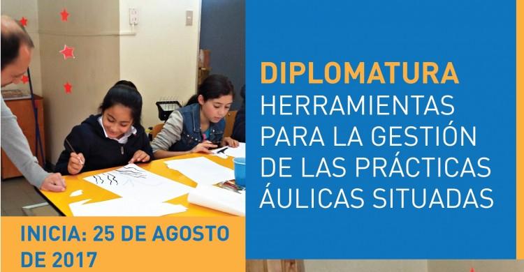 Inscriben para Diplomatura en Herramientas para la gestión de las prácticas áulicas situadas