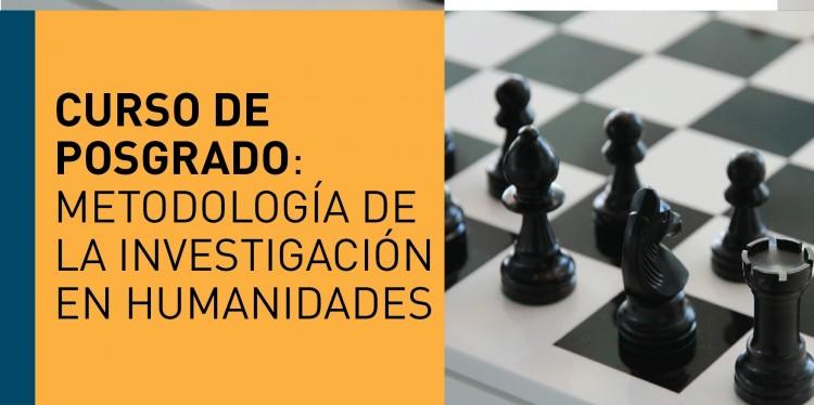 La metodología de la investigación en humanidades será tema de un curso