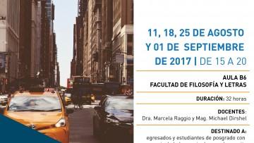 Curso de posgrado La ciudad de Nueva York en el cine y la literatura: espacio y símbolo