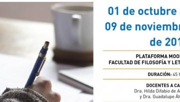 """Taller de posgrado: """"Clínica de la producción conceptual y escrita de la tesis de posgrado"""""""