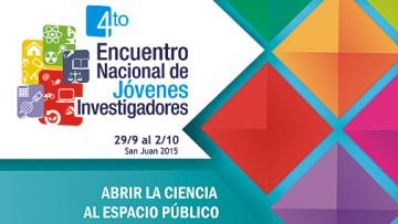 Convocatoria IV Encuentro Nacional de Jóvenes Investigadores