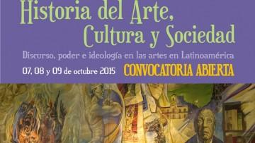 """Presentación de ponencias para el """"I Congreso Nacional e Internacional de Historia del Arte, Cultura y Sociedad"""""""