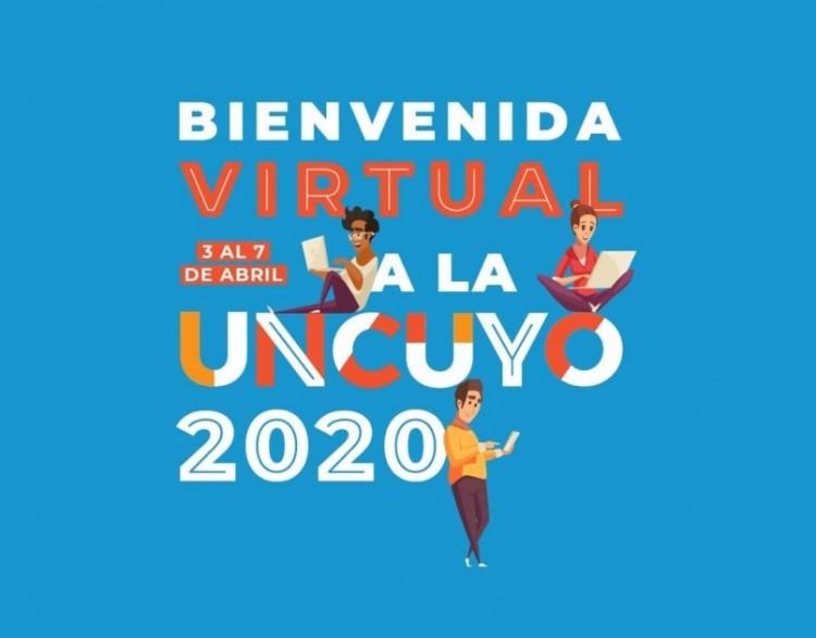 La Bienvenida a la UNCUYO será virtual y durante cinco días