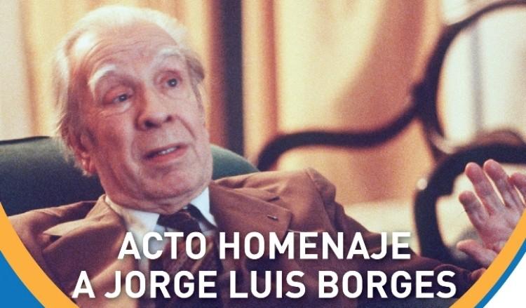 Homenajearán a Jorge Luis Borges en un acto