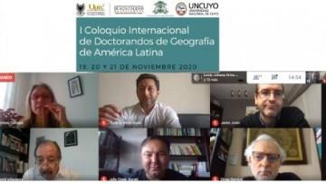 """""""I Coloquio Internacional de Doctorandos de Geografía de América Latina"""""""