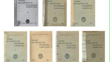 imagen que ilustra noticia Arqueología: 80 años de los Anales del Instituto de Etnografía
