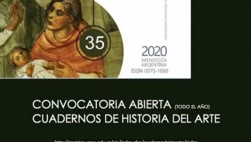 Convocatoria abierta para la revista científica Cuadernos de Historia del Arte (CHA)