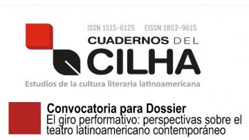 El giro performativo: perspectivas sobre el teatro latinoamericano contemporáneo