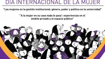Realizarán Conversatorio sobre el Día Internacional de la Mujer