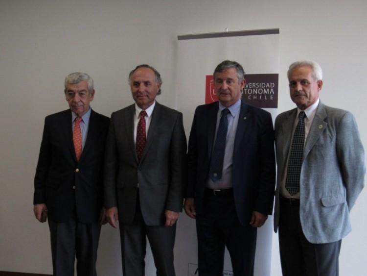 Acordaron movilidad entre la UNCUYO y la Universidad Autónoma de Chile