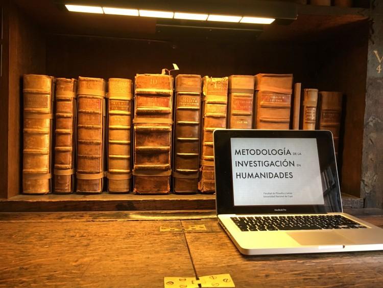 Iniciará un curso virtual de Posgrado sobre la Metodología de la Investigación en Humanidades