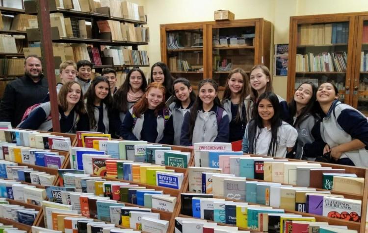 Visita de la Escuela Cristiana Evangélica Mendoza al Departamento de Geografía