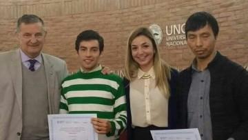 imagen que ilustra noticia Estudiante de Filosofía ganó Certamen Literario sobre la Reforma Universitaria