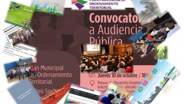 Conversatorio: Participación y comunicación de los planes municipales de Ordenamiento Territorial
