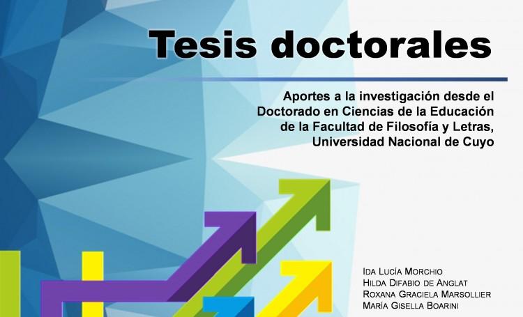 Presentarán libro electrónico sobre los aportes a la investigación del Doctorado en Ciencias de la Educación de la FFyL