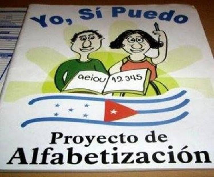 """Presentación del Programa de Alfabetización """"Yo, Sí Puedo"""""""
