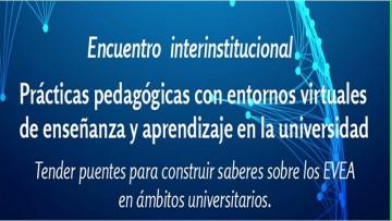 Reflexionarán sobre prácticas pedagógicas con entornos virtuales de enseñanza y aprendizaje en la Universidad