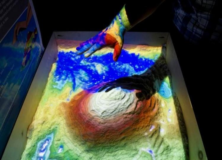 Mesa Topográfica Digital Interactiva fue inaugurada en la Facultad