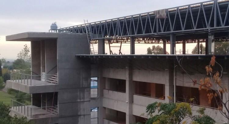 Ampliación del edificio de la Facultad