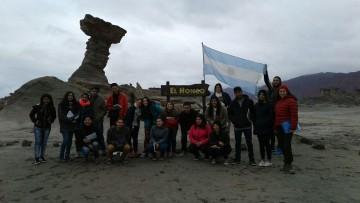 Estudiantes de primer año de Turismo visitaron el Parque Nacional Ischigualasto