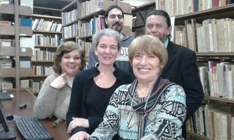 Personal de la Biblioteca de la Facultad