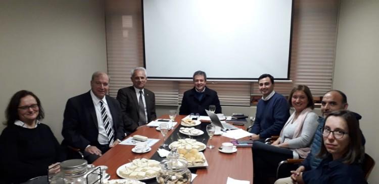 Reunión con autoridades de la Universidad de Concepción