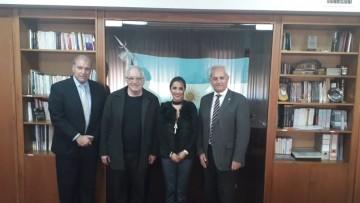 La Presidenta de la Fundación FUNDEFA de Ecuador visitó la FFyL