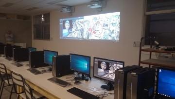 Nueva aula tecnológica en Filosofía y Letras