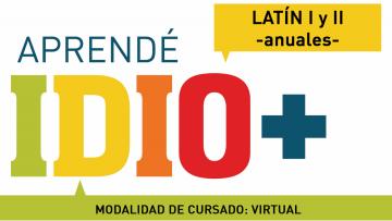 Los cursos de Latín I y II comenzarán el 04 de mayo, con modalidad virtual