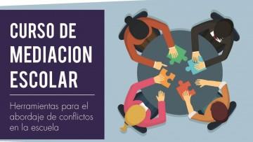 """""""Mediación escolar: herramientas para el abordaje de conflictos en la escuela"""", tema de un curso"""
