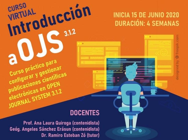 CUPO COMPLETO. Introducción a OPEN JOURNAL SYSTEMS 3.1.2. Curso práctico para configurar y gestionar publicaciones científicas electrónicas